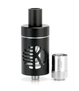 Køb Kangertech i sort Sub Ohm Cltank lækagefri på 2 ml, plus en brænder, til at dampe via E-cigaret!