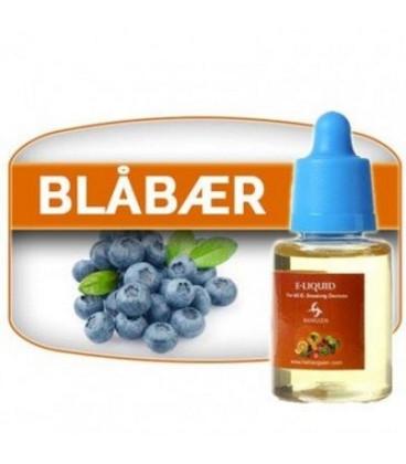 Billig E-væske med nikotin til e-cigaret fra Hangsen -   Blåbær