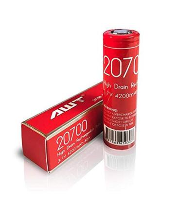 Original AWT batteri IMR 20700 4200 mAh 40A 3.7V - E-cigaret - genopladeligt. Køb billigt online her!