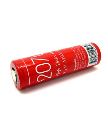 AWT batteri til E-cigaret m.m. IMR 20700 4200 mAh 40A 3.7V genopladeligt - Original Køb billigt her!