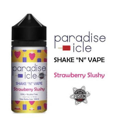 Halo Strawberry Slushy Shake and Vape bland selv E-væske til en E-cigaret, køb billig online her!